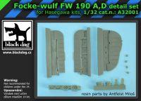 A32001 1/32 Focke-Wulf FW 190 A, D detail set