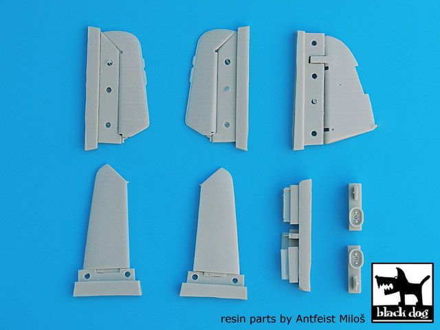 A32004 1/32 Bf-109 G,K detail set Blackdog
