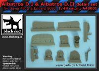 A48001 1/48 Albatros D.I & D.II detail set