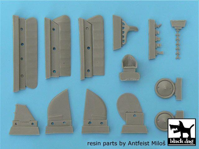 A48003 1/48 Pfalz D.III A detail set Blackdog
