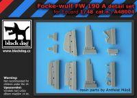 A48004 1/48 Focke-Wulf FW 190 A detail set