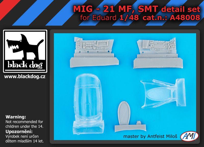 A48008 1/48 Mig 21 MF,SMT Blackdog