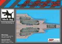 A48018 1/48 F 35 A Lighting II big accessories set
