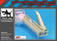 A48020 1/48 Westland Lynx HMA8 accessories set N°2 Blackdog