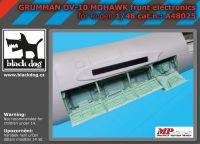 A48025 1/48 Grumman OV 1D Mohawk front electronic