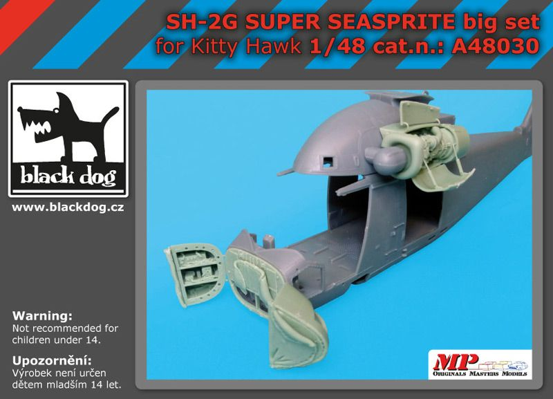 A48030 1/48 SH-2 G Super Seasprite big set Blackdog