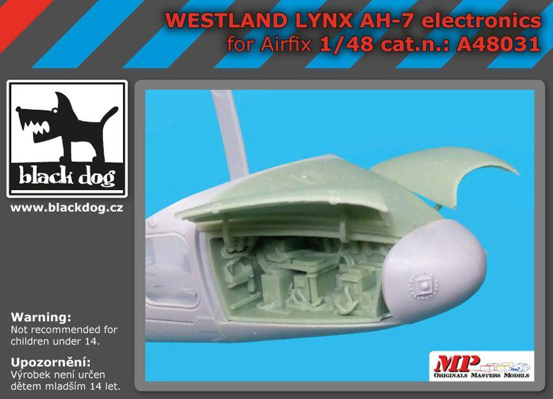 A48031 1/48 Westland Lynx AH 7 electronic Blackdog