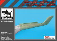 A48032 1/48 Westland Lynx AH 7 tail