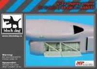 A48035 1/48 V-22 engine Blackdog