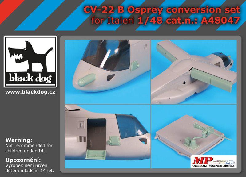 A48047 1/481 CV-22 B Osprey conversion set Blackdog