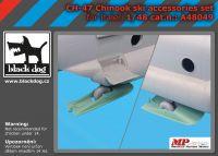A48049 1/48 Ch-47 Chinook ski accessories set