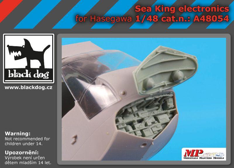 A48054 1/48 Sea King electronic Blackdog