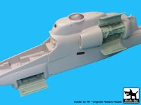 A48057 1/48 AH-1W engine-electronic Blackdog