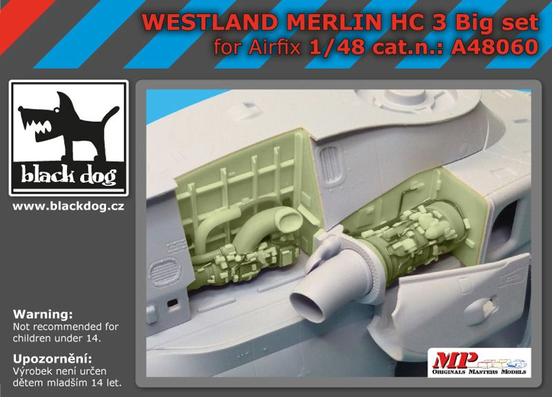 A48060 1/48 Westland Merlin HC-3 B big set Blackdog