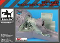 A48062 1/48 UH -1 C engine