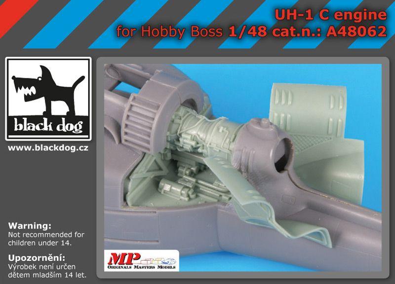 A48062 1/48 UH -1 C engine Blackdog