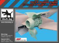 A48063 1/48 OV-1 D Mohawk engine