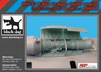 A48068 1/48 MH-53 E Sea Dragon outer engine