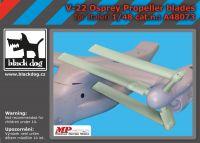 A48073 1/48 V-22 Osprey propeller blades