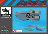 A48074 1/48 E-2 C Hawkeye 1 engine