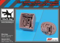 A48076 1/48 E-2 C Hawkeye radar +electronics