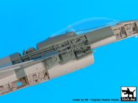 A48078 1/48 F-16 C electronics 2 +canon Blackdog