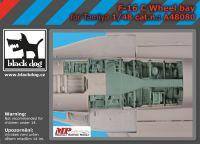 A48080 1/48 F-16  C Wheel bay