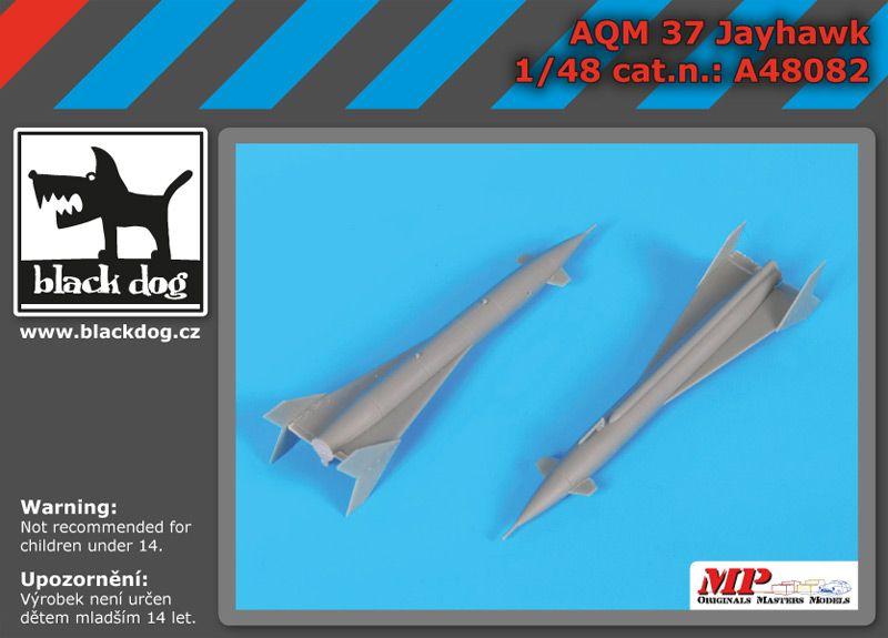A48082 1/ 48 AQM 37 Jayhawk Blackdog