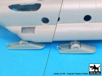 A7202 1/72 CH-47 Chinnok ski accessories set Blackdog