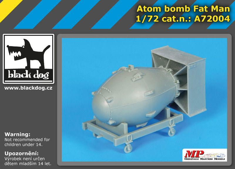 A7204 1/72 Atom bomb Fat Man Blackdog