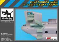 A7205 1/72 Ch-47 Chinnok engine