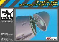 A72010 1/72 UP-3 D Orion radar