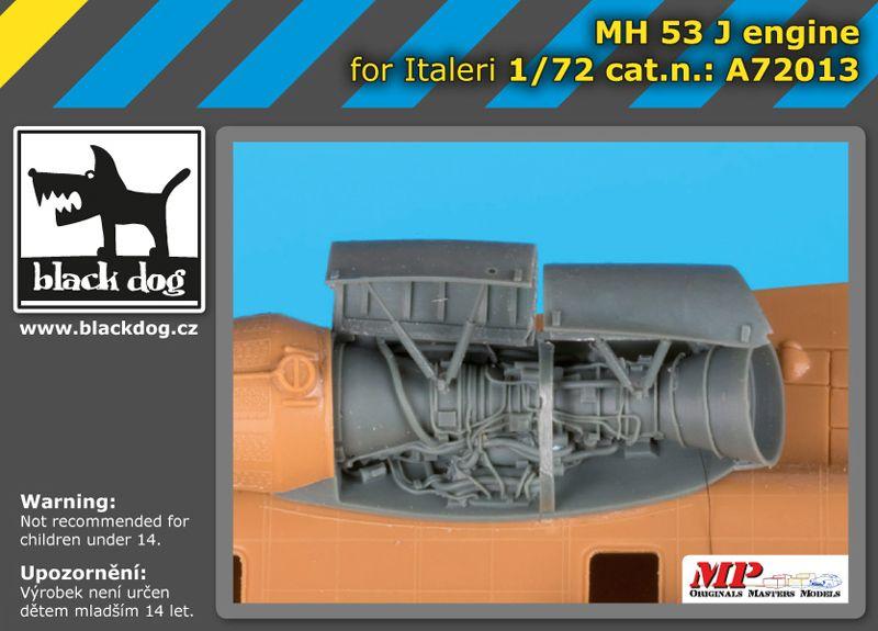 A72013 1/72 MH-53 J engine Blackdog