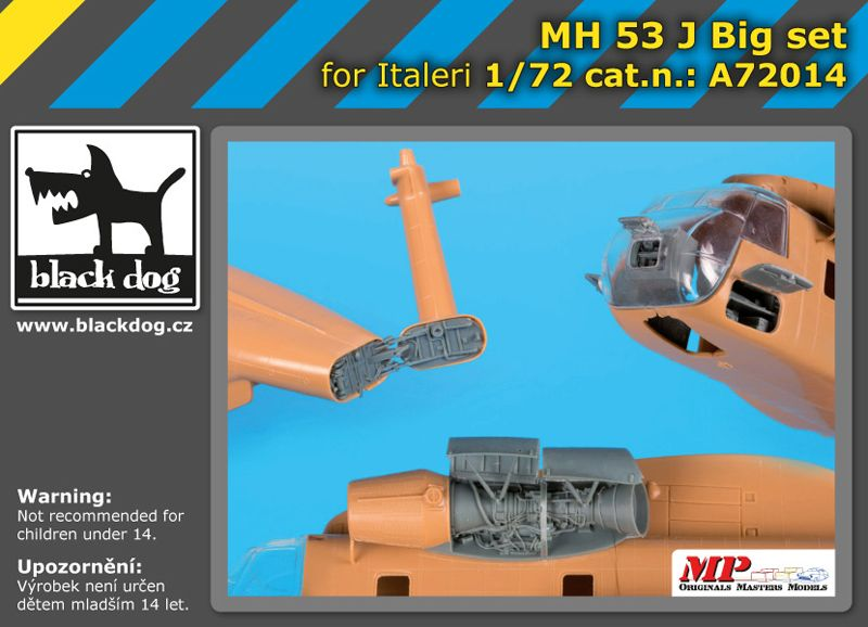 A72014 1/72 MH-53 J big set Blackdog