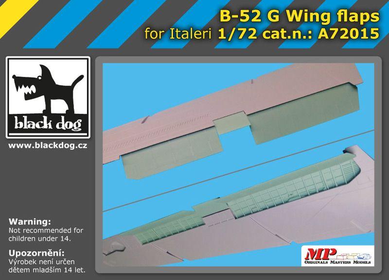 A72015 1/72 B-52 G wing flaps Blackdog