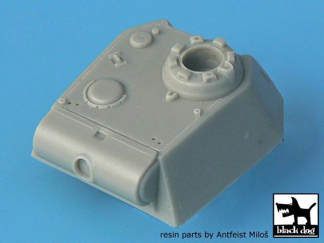 T72013 1/72 Panther G turret conversion set Blackdog
