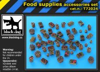 T72024 1/72 Food supplies accessories set