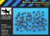 T72026 1/72 Boxes accessories set