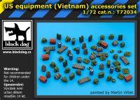 T72034 1/72 US equipment Vietnam Blackdog