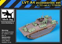 T72036 1/72 LVT A4 accessories set Blackdog