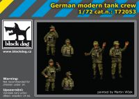 T72053 1/72 German modern tank crew