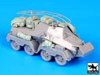 T72058 1/72 Sd Kfz 263 accessories set Blackdog