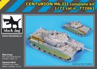 T72061 1/72 Centurion Mk III complete kit