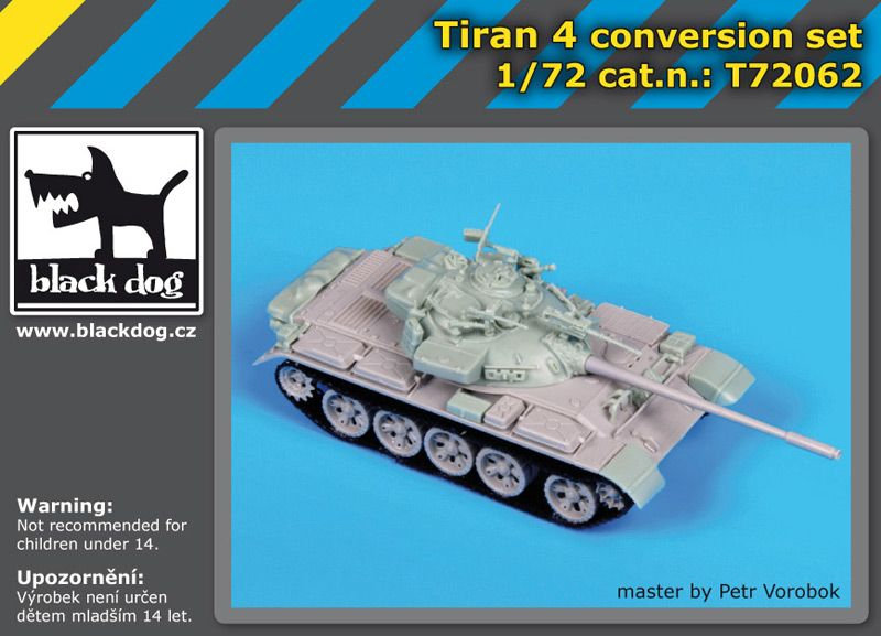 T72062 1/72 Tiran 4 Blackdog