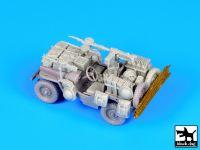 T72063 1/72 British SAS jeep North Africa 1942 Blackdog