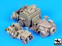 T72065 1/72 British SAS jeep - chevrolet SAS Blackdog