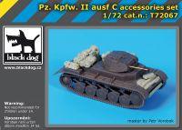 T72067 1/72 Pz Kpfw II ausf C accessories set