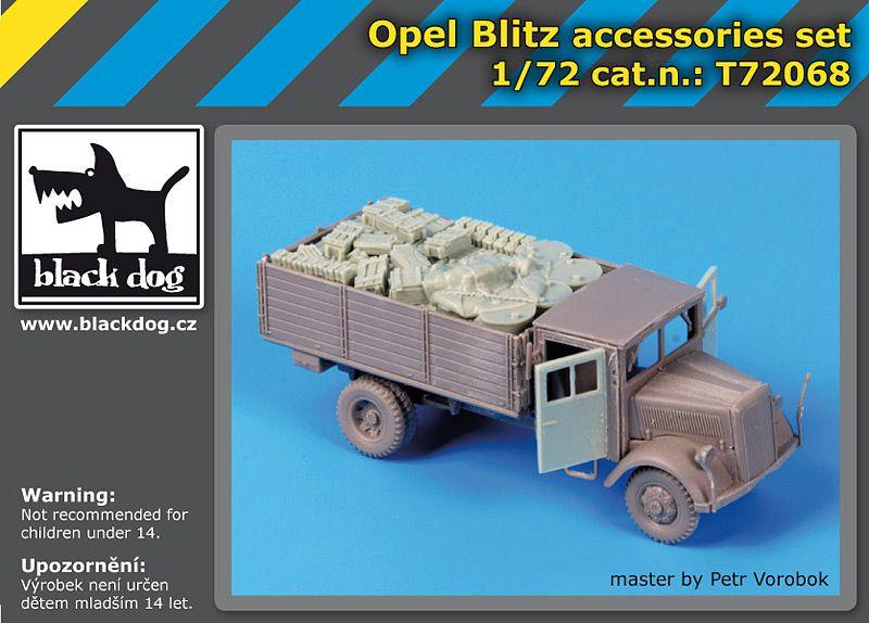 T72068 1/72 Opel Blitz accessories set Blackdog