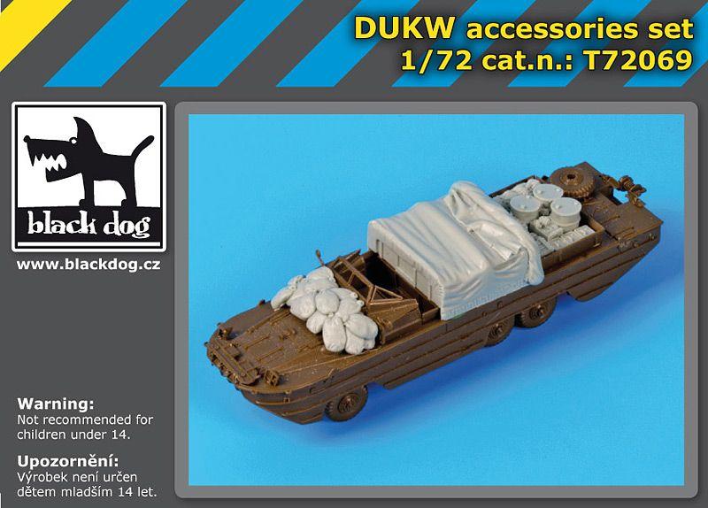 T72069 1/72 DUKW accessories set Blackdog