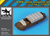 T72070 1/72 DUKW canvas accessories set